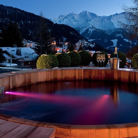 Verbier, Switzerland ski resort, chalet mont fort