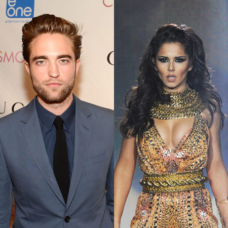 Robert Pattinson and Cheryl Cole