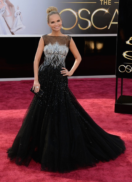 Kristin Chenoweth at the Oscars 2013