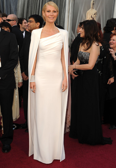 Gwyneth Paltrow in Tom Ford at the Oscars 2012
