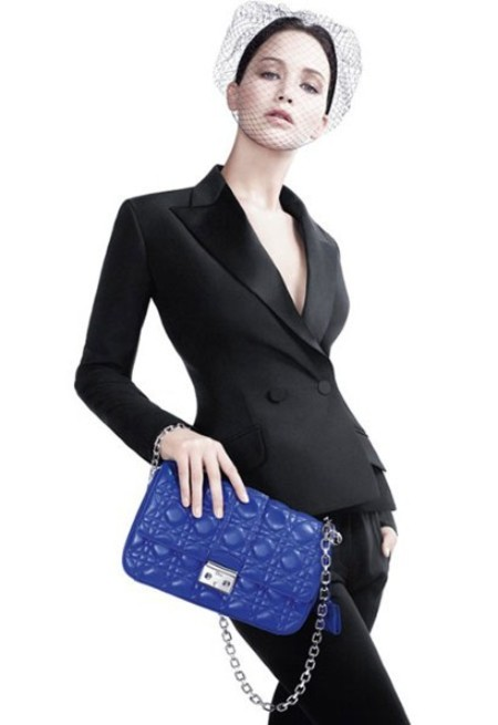 Jennifer Lawrence debut Miss Dior handbag campaign