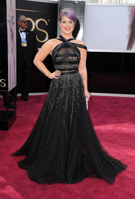 Kelly Osbourne in Tony Ward couture dress