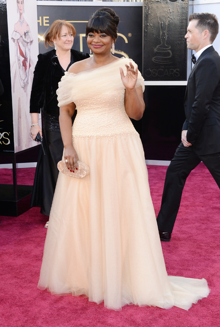 Octavia Spencer at the Oscars 2013