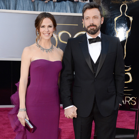 Jennifer Garner and Ben Affleck at 2013 oscars