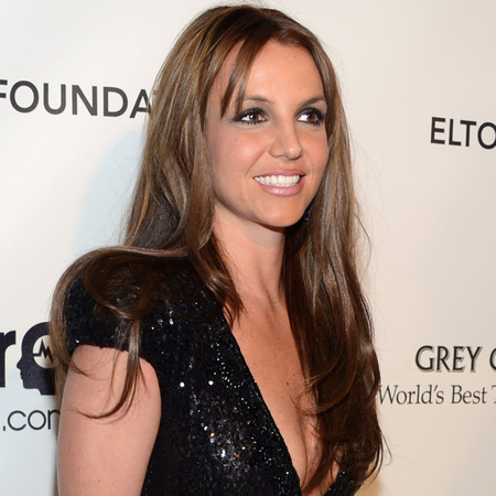 Britney Spears at Elton John Oscar afterparty