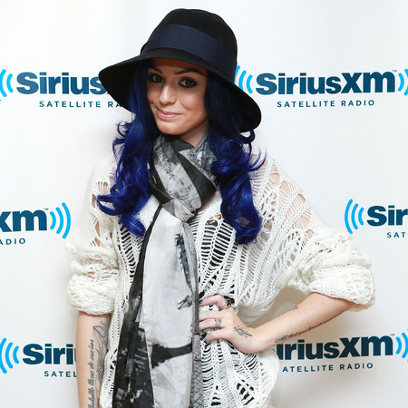 Cher Lloyd blue hair