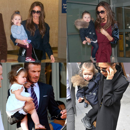 Harper Beckham's shoe collection