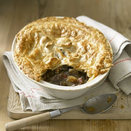 British Pie Week Recipe: Rich and Tasty Beef Bourguignon Pie
