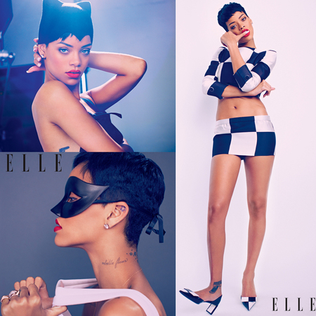 Rihanna for Elle UK April 2013 issue