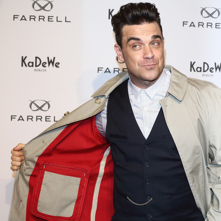 Robbie Williams launches news menswear line in Germany