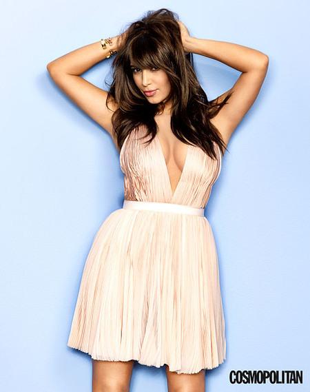 Kim Kardashian for US Cosmopolitan cover March 2013