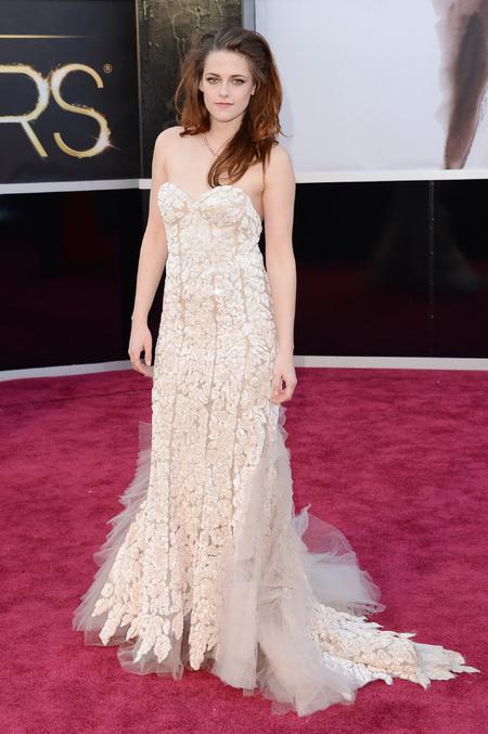 Kristen Stewart wears Reem Acra