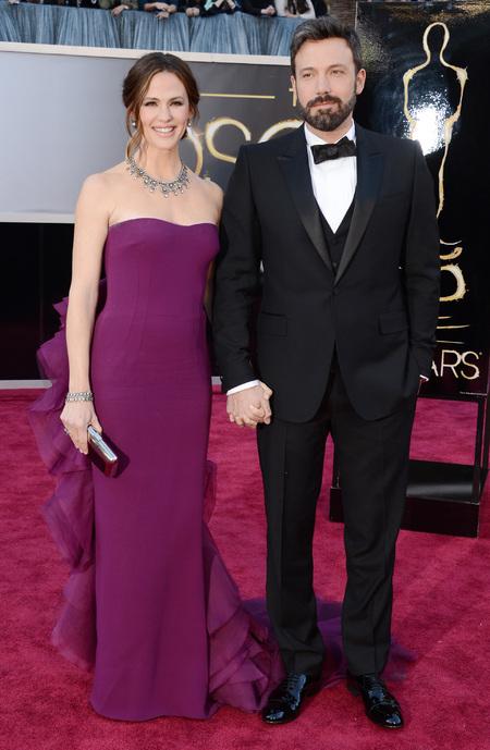 Jennifer Garner wears Gucci dress