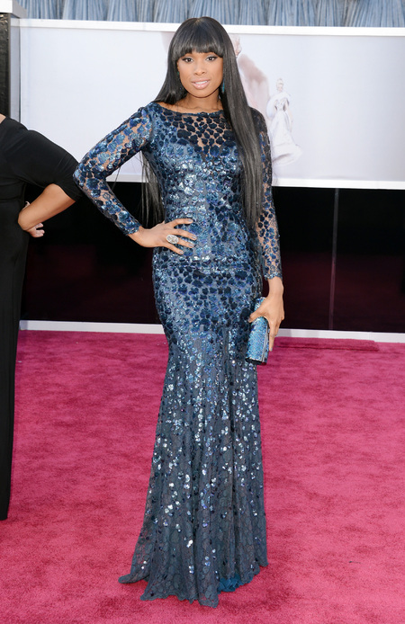 Jennifer Hudson at the Oscars 2013