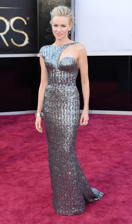 Naomi Watts in Armani Privé dress