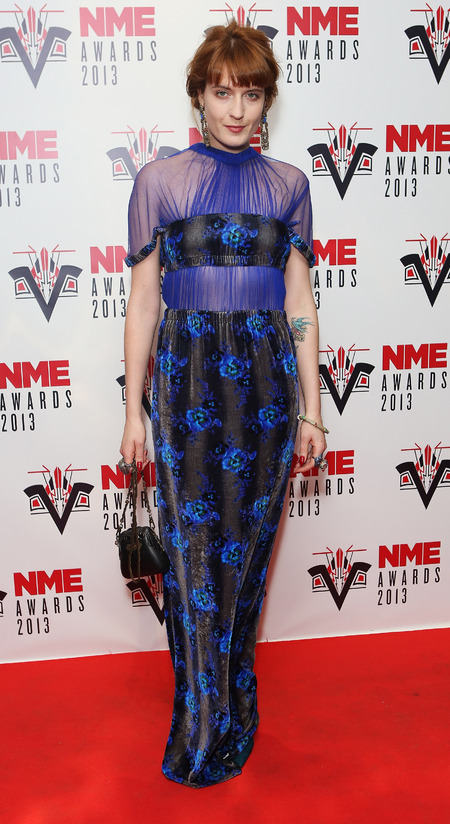 Florence Welch wows in floral Christopher Kane at NME Awards