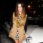 SHOP! Caroline Flack's retro Miss Patina coat