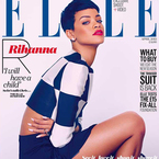 Elle reveals two Rihanna covers for April issue