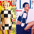 FASHION FIGHT: Rihanna V January Jones in Louis Vuitton