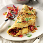 Liz McClarnon's Indian omelette recipe