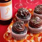 Chocolate & red wine cupcakes (yes, really!)