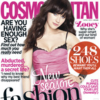 FIRST LOOK! Zooey Deschanel for Cosmopolitan UK