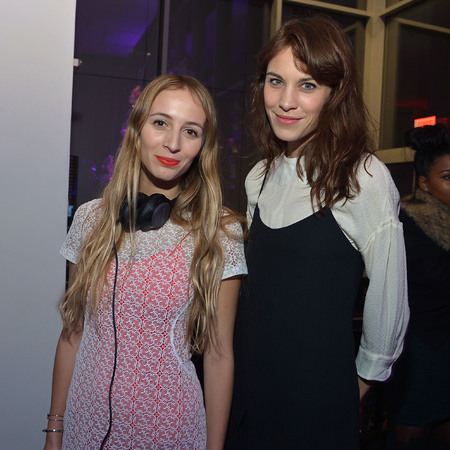 Alexa Chung at MoMA Armory party
