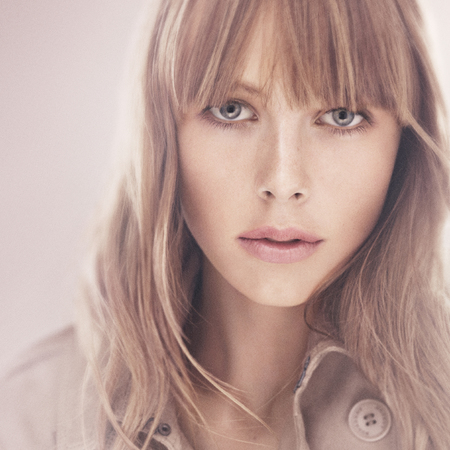 Edie Campbell for Burberry Beauty English Rose Spring 2013