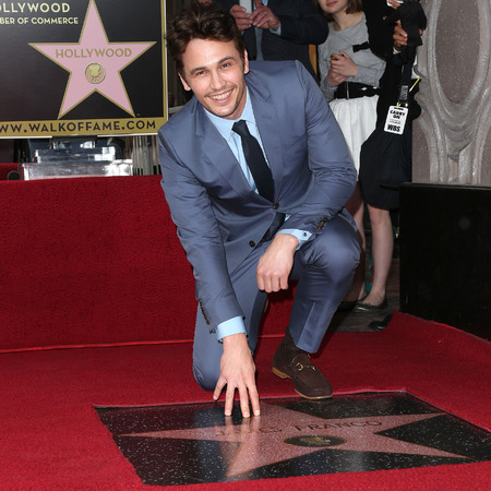 James Franco is added to Hollywood's Walk of Fame