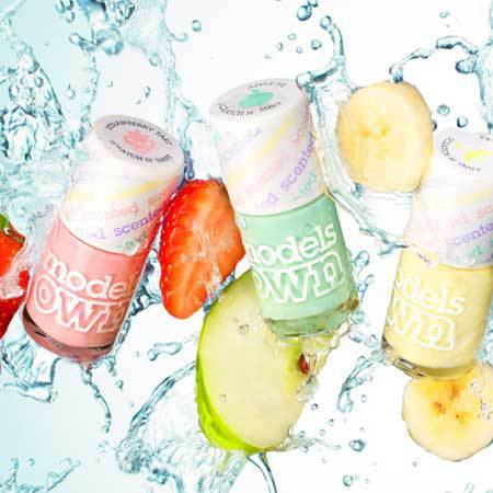 Models Own Fruit Pastel Collection PERFUMED POLISH