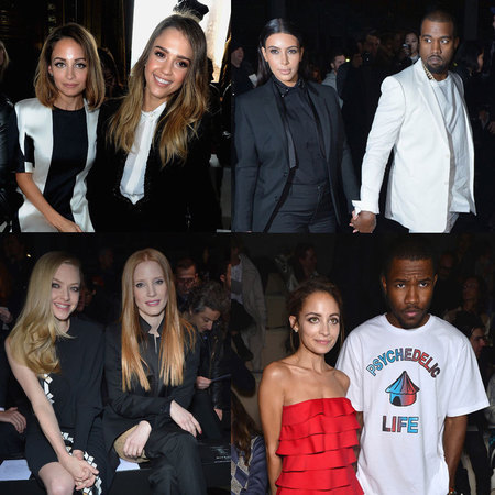 PARIS FASHION WEEK: front row