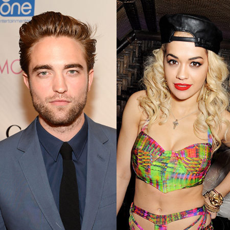 Robert Pattinson and Rita Ora