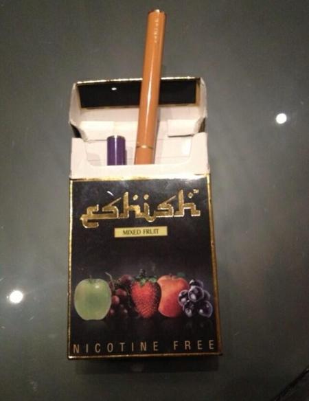Nicola Robert's shisha packet