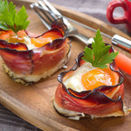 Mother's Day Recipe: Posh bacon and eggs