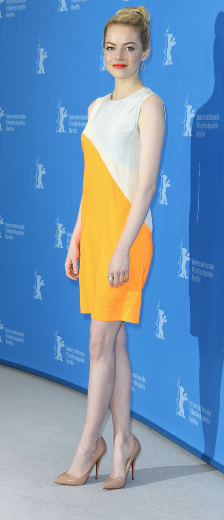 Yellow Stella McCartney dress