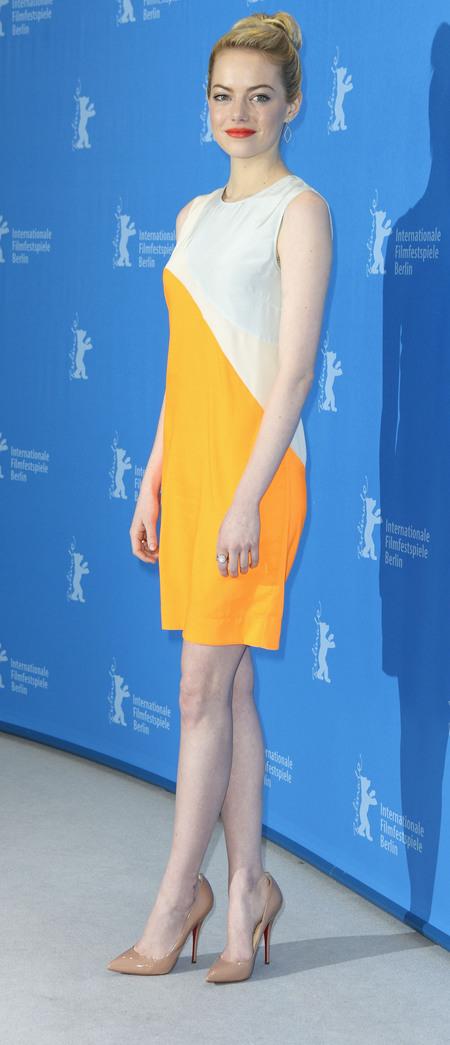 Yellow Stella McCartney dress
