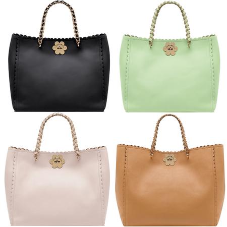 Mulberry flower detail handbags for SS13