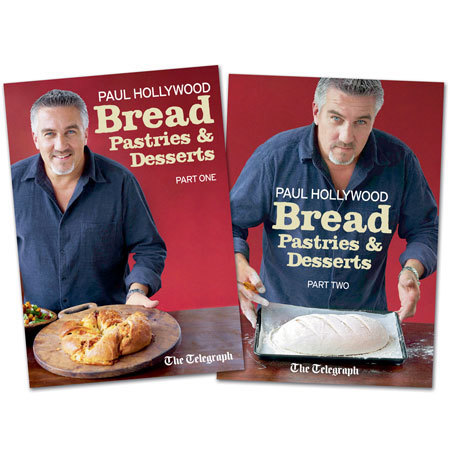 Paul Hollywood's Bread, Pastries and Desserts free with the telegraph