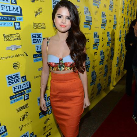 Selena Gomez in Dolce & Gabbana at Spring Breakers