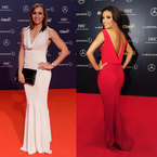FASHION FIGHT! Jessica Ennis & Eva Longoria at Laureus Awards