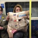 Geri Halliwell's tube journey in pictures