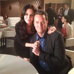 WATCH: Matthew Perry and Courteney Cox reunited