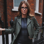 Millie Mackintosh works retro specs for style blog