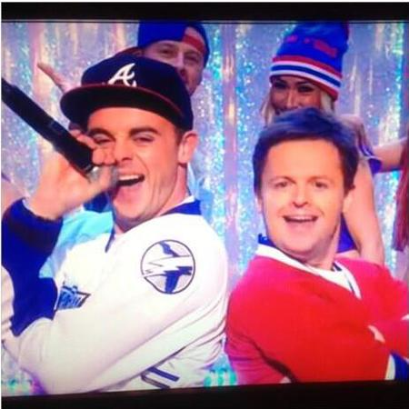 Ant and Dec perform let's get ready to rumble