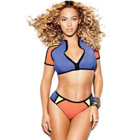 Beyonce poses in bikini for Shape magazine