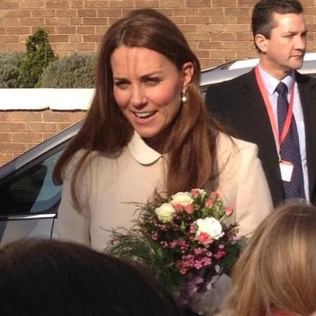Kate Middleton visits Child Bereavement UK