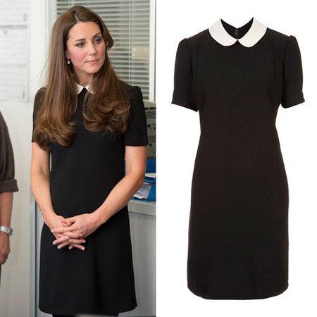 Kate Middleton wears Topshop dress