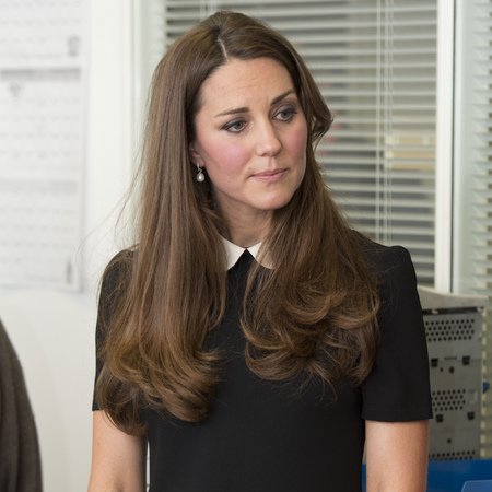 Kate Middleton wears Topshop tall dress