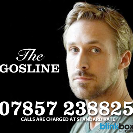 Ryan Gosline helpline