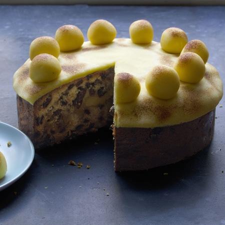 Award winning baker Dan Lepard's Simnel Cake